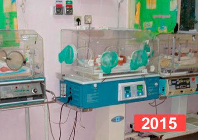 Hospital infantil de Nador, Marruecos. 2015