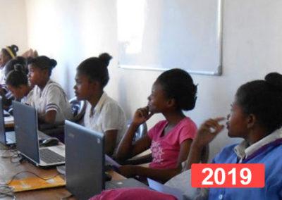 Integración laboral: formación profesional de adolescentes en Madagascar
