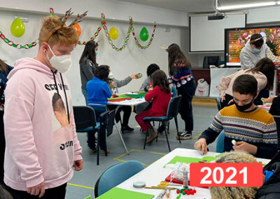 Programa para la integración social en niños. Atención a la infancia