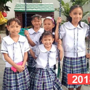 Financiación de orfanato de niñas en Manila, Filipinas 2018