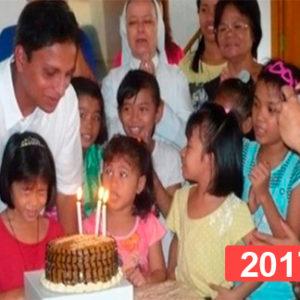Orfanato de niñas en Manila, Filipinas 2017