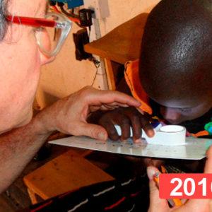 Proyecto de salud infantil en Turkana, Kenia 2016