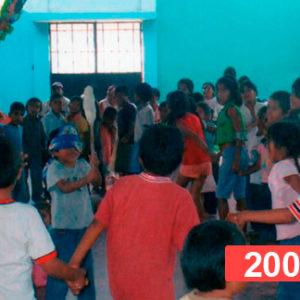 Lucha contra la desnutrición infantil. Niños en extrema pobreza en Perú, 2008