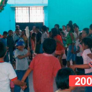 Lucha contra la desnutrición infantil. Niños en extrema pobreza en Perú, 2009